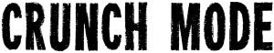 20151129 Bandlogo Crunch Mode Schwarz