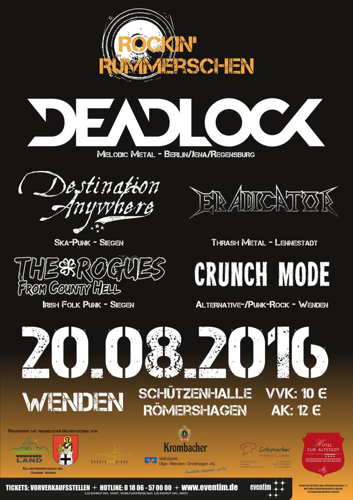 20151109 Plakat Rockin Ruemmerschen 2016